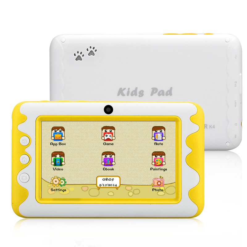Venstar K4 Kids Pad Tablet (Yellow)