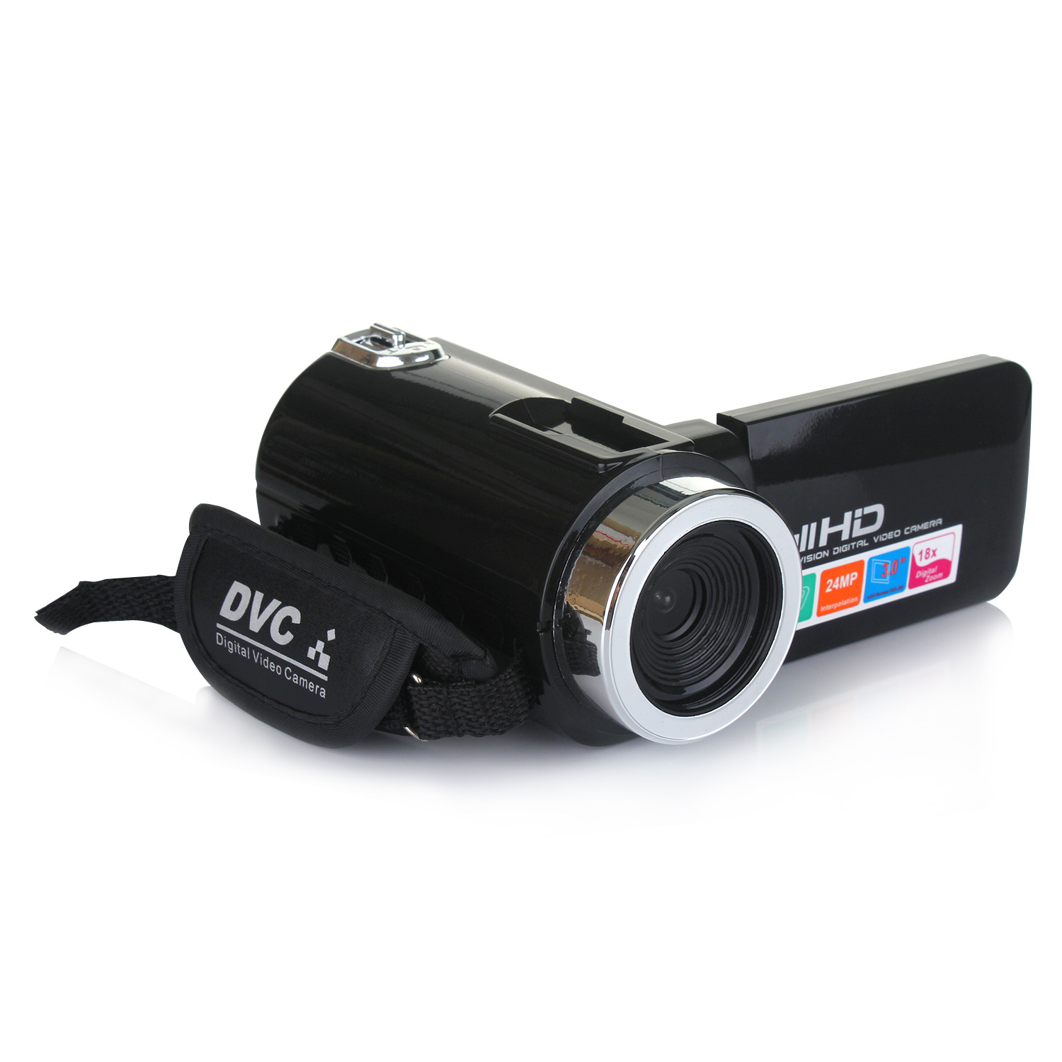 Professional 4K HD Camcorder Video Camera Night Vision 3.0 Inch LCD Touch Screen Camera 18x Digital Zoom Camera with Microphone camera