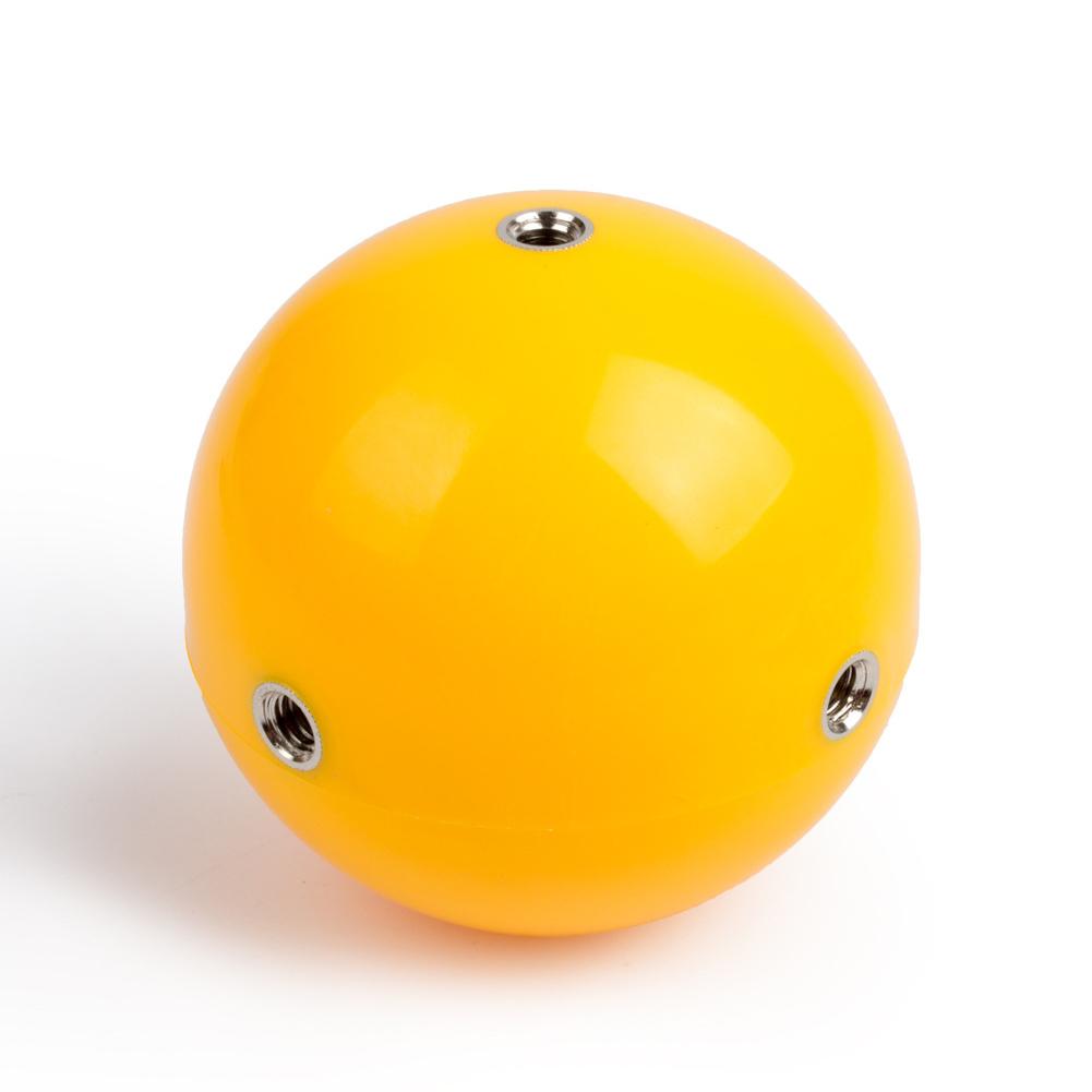 Camera Supplement Floating Ball Underwater Selfie Equipment for Sports Camera  Yellow
