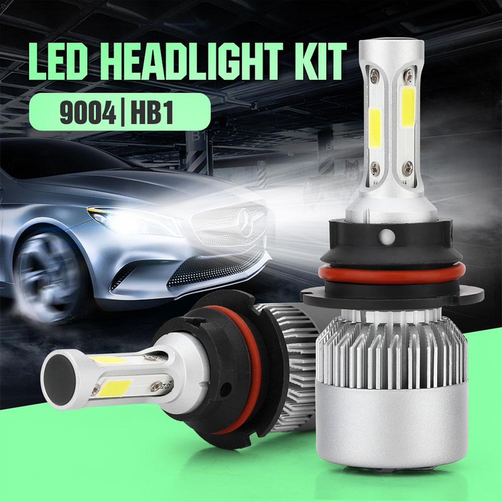 Pack of 2 COB LED Auto Car Headlight, 40W 10000LM All In One Car LED Headlights Bulb Fog Light, White 6000K Head Lamp