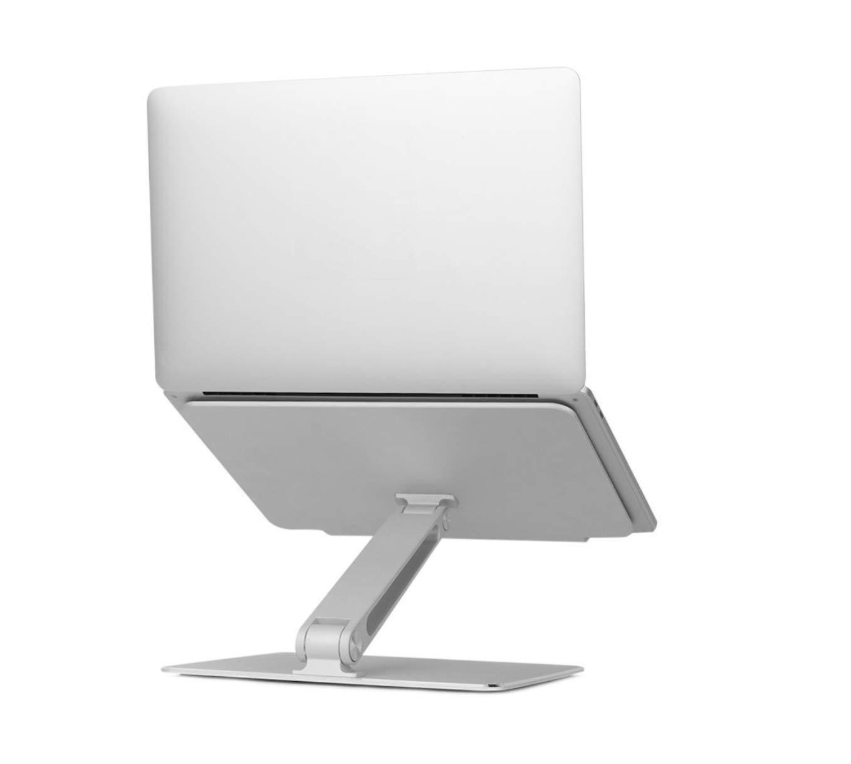 Laptop Aluminum Alloy Portable Stand Desktop Computer Shelf Foldable and Multi-function Base Cooling Helper Neck Vertebra Protector Free rotating bracket