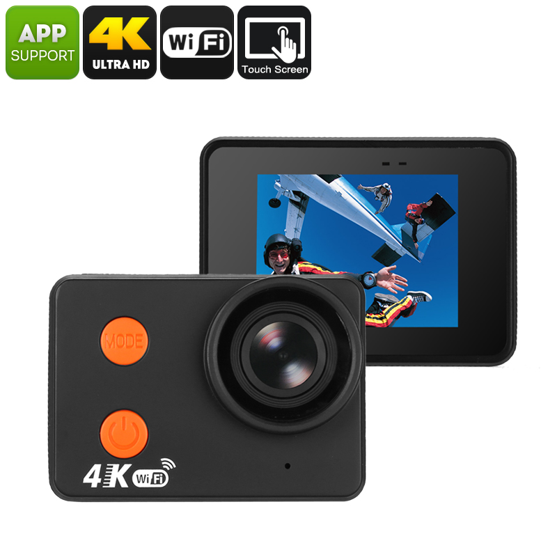 Waterproof 4K Sports Action Camera