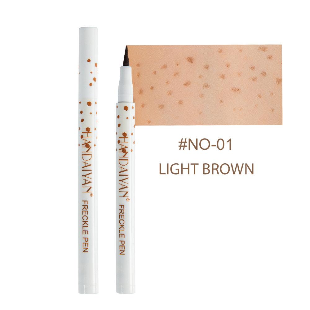 Natural  Freckle  Pen Long Lasting Natural Simulation Non-fading Dot Makeup Spotting Pen 01