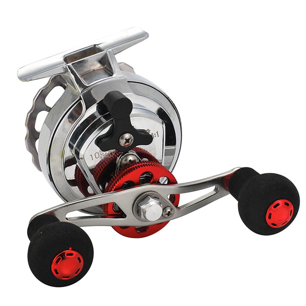 Metal Raft Fishing Reel with Discharge Force Micro Lead Bridge Fishing Wheel