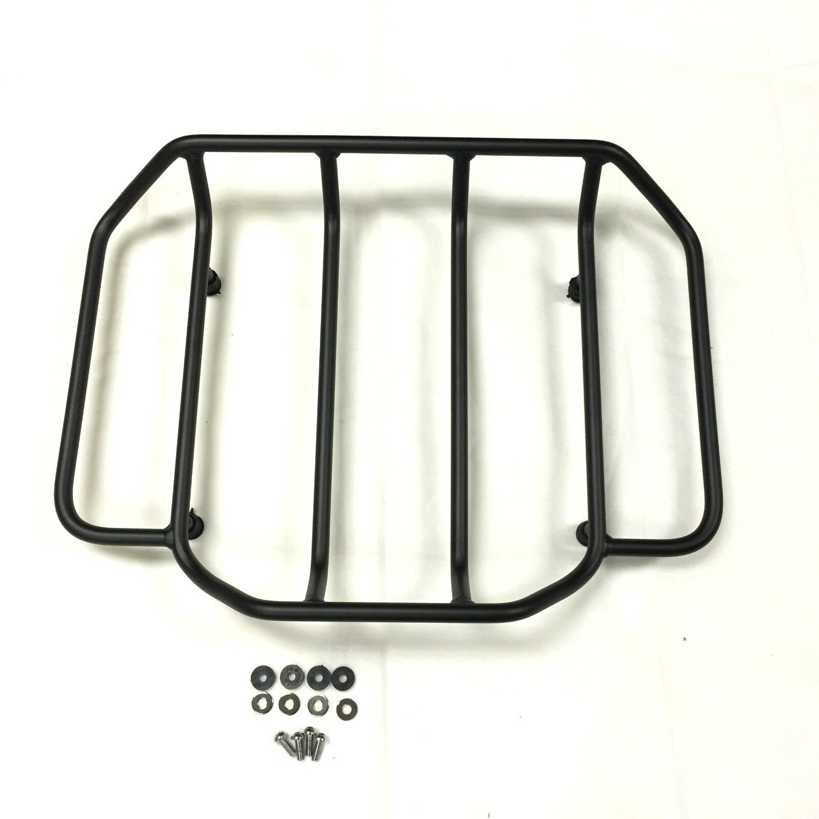 Motorcycle Luggage Rack for Touring Road King Street Glide Road Glide FLTRX Electra Glide CVO 1984-2018 black