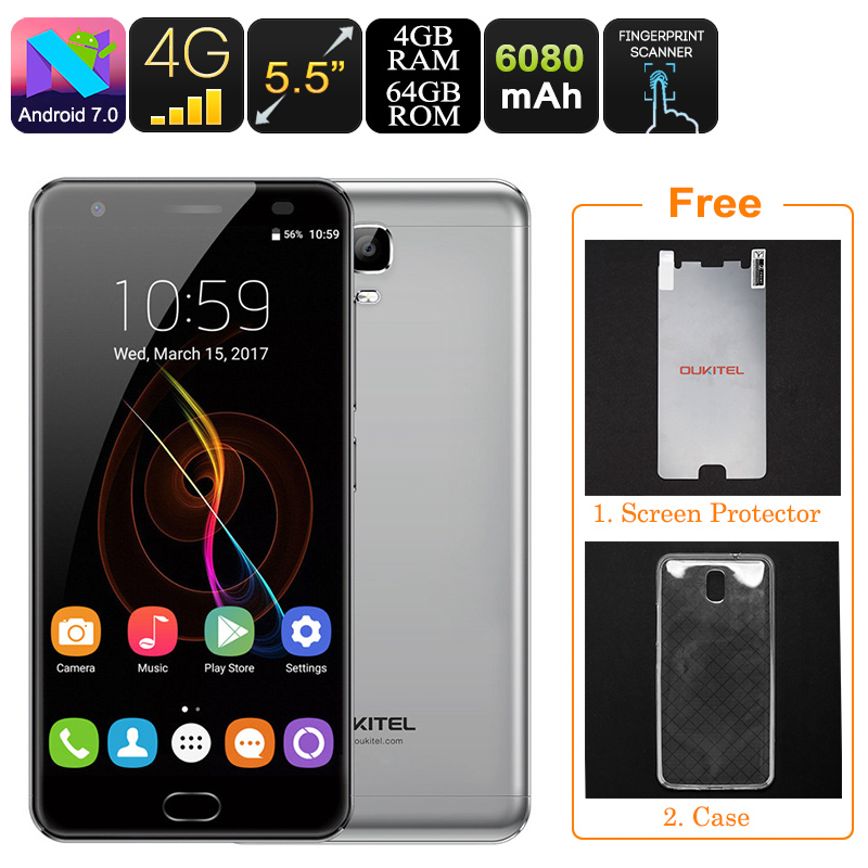 Oukitel K6000 Plus Android Phone