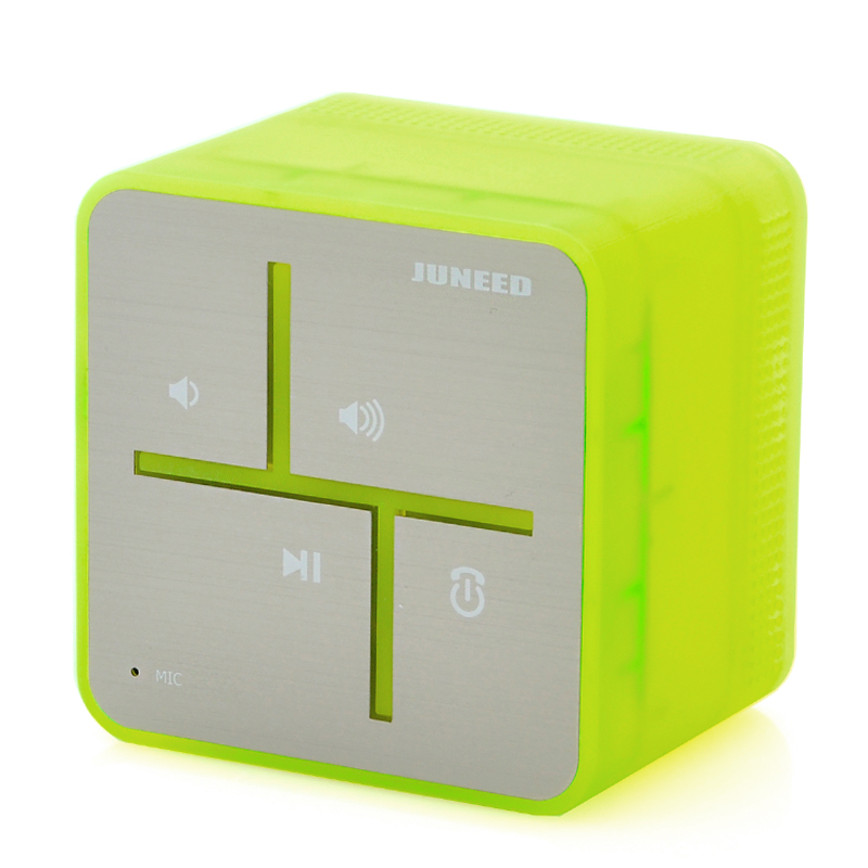 Portable Bluetooth Speaker w/ Mic - Juneed