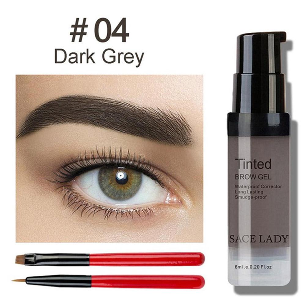 Eyebrow Gel Waterproof Brush Set Eye Brow Dye Cream Make Up Paint Cosmetic
