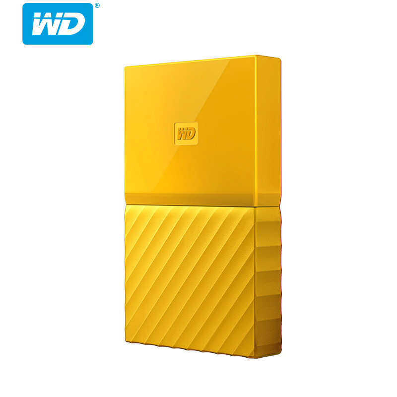 Western Digital My Passport HDD - Yellow 4TB