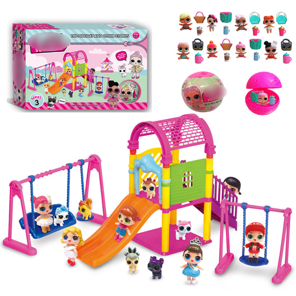 Doll Park House Toys Type 2