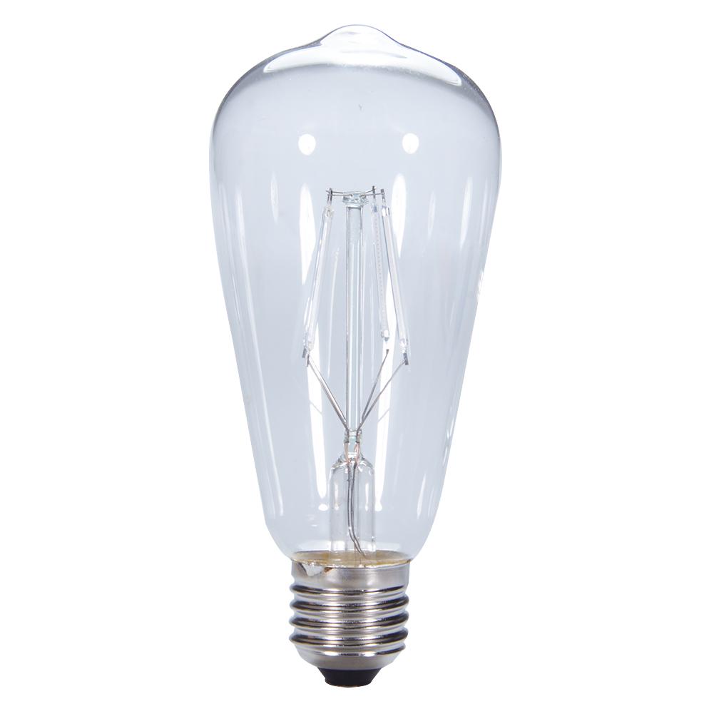 Retro Decorative Edison Bulb LED COB E27 Screw Cap Pub Bar Ambient Filament Light Bulb Blue