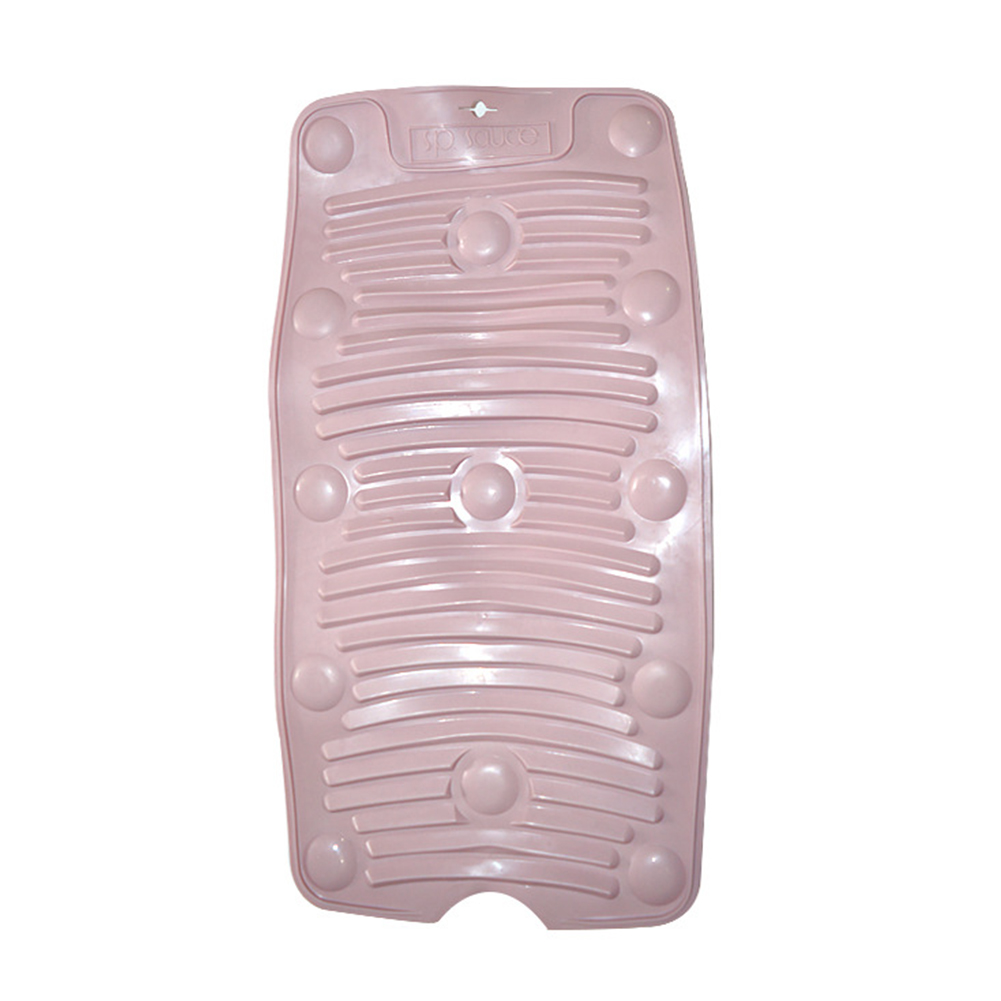 Foldable Drain Non-slip Washboard with Suction Cup for Home Kitchen Accessories Pink