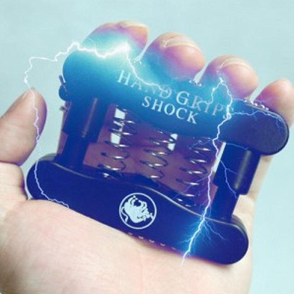 Teenager Adult Mini Electric Shock Grip Toy April Fool Tool Funny and Prank Key Chain Random