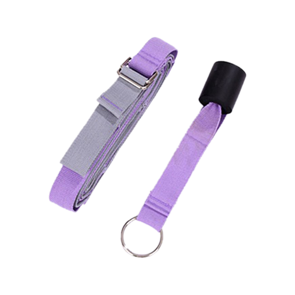 Dancer Stretch Band Leg Stretching Home Equipment for Ballet Dance Gymnastic Exercise Purple
