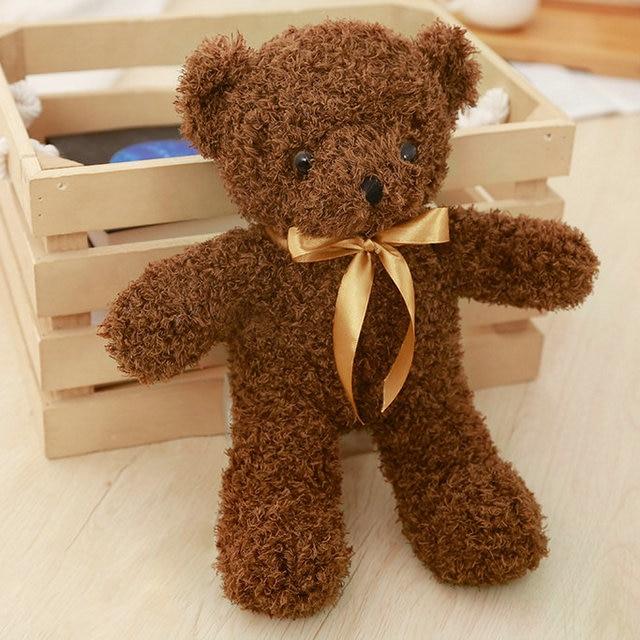 Drop shipping 30-110cm Cute bear plush toys stuffed animals birthday/Children's day gift for Kids Teddy bear doll