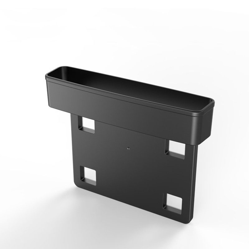Car Storage Box Multifunction Storage Box for Car Seat 1 black