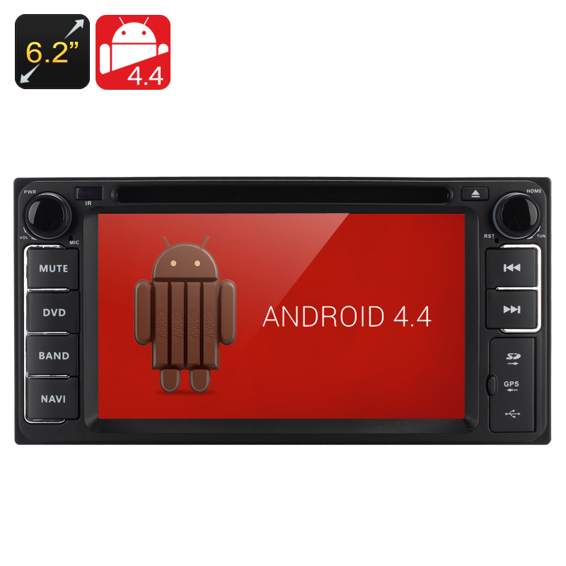 2 DIN Android 4.4 Car DVD Player for Toyota