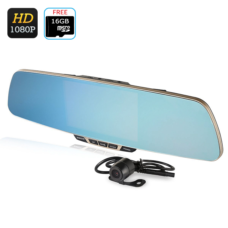 ZeroEdge Z2 Dual Lens Car DVR