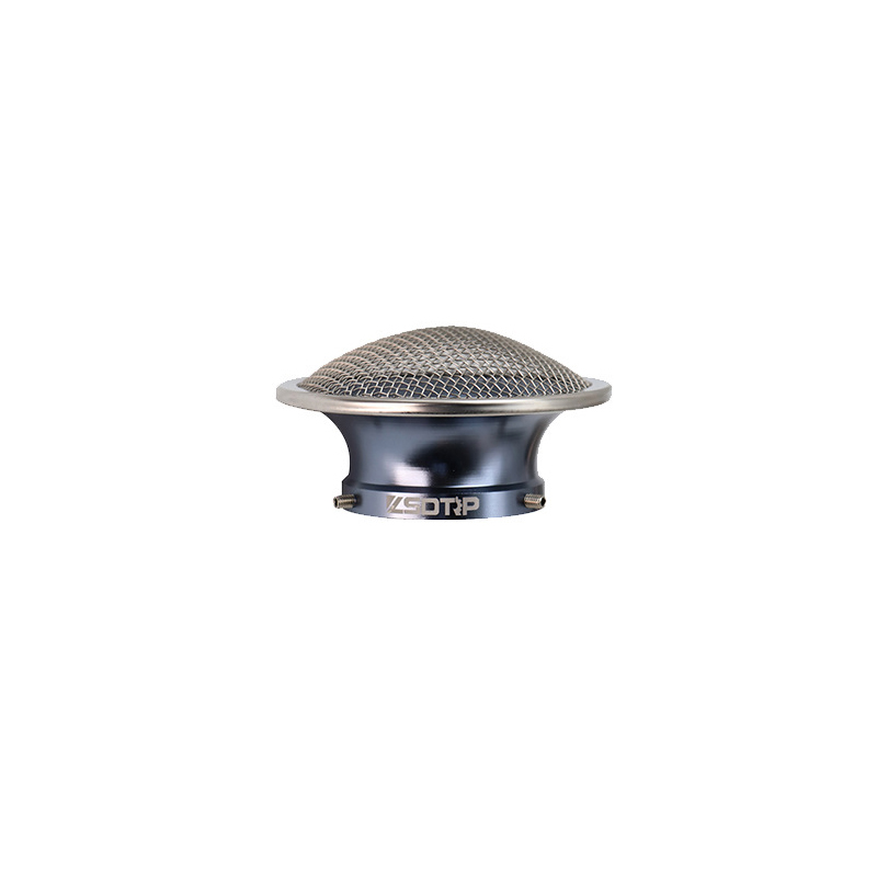 50mm Motorcycle Air Filter Wind Horn Cup Alloy Trumpet with Guaze for PWK28/30mm PE 28/30mm Carburetor 50mm titanium