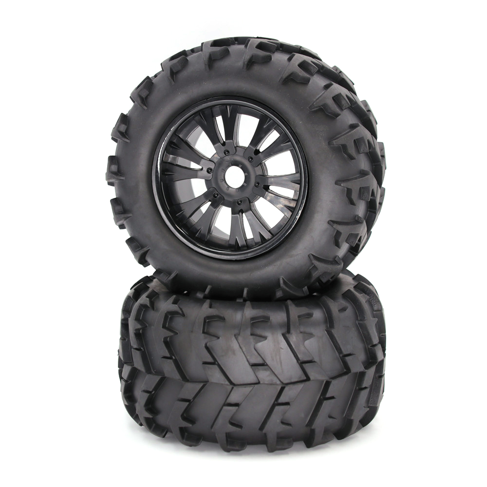 1/8 Tire Universal RC Car Wheel and Tire Off-road Car Tire Car Parts 150MM 1/8 (1 pair)