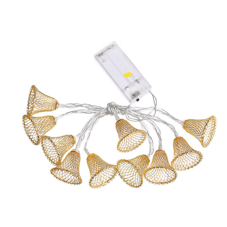 LED String Lights Battery Powered Lights Outdoor Decoration for Holiday Wedding Christmas Halloween white