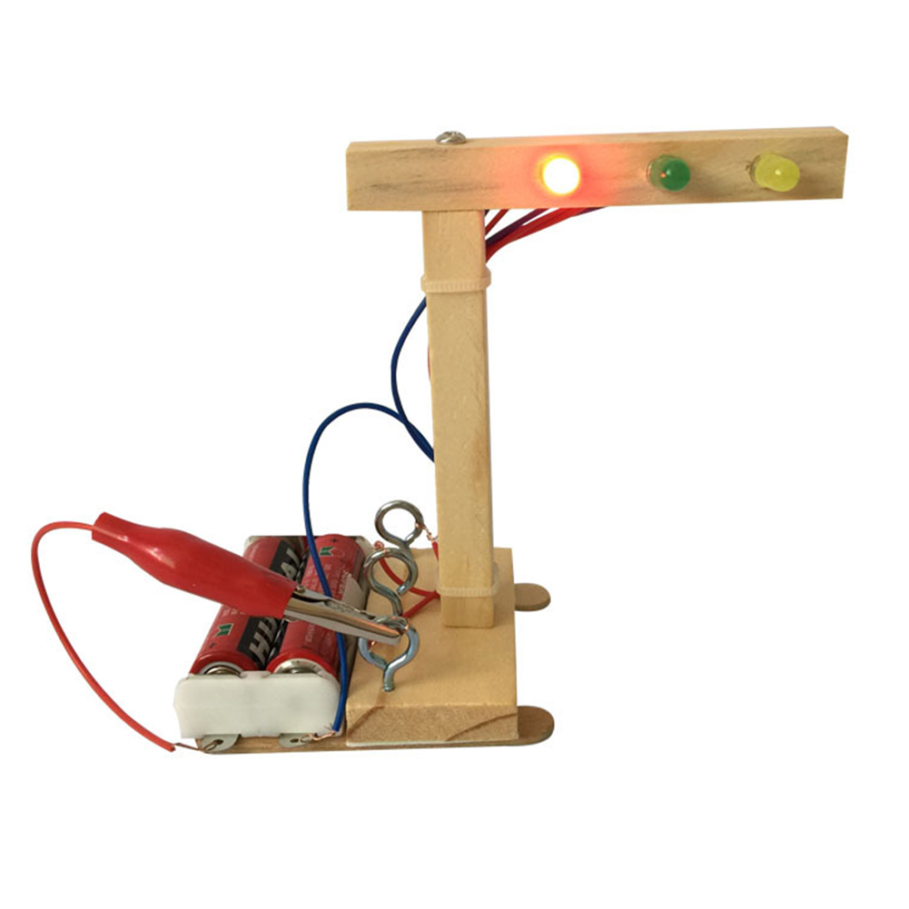 Technology Small Production Traffic Light Intelligence Assembled Handmade DIY Handmade Material Set
