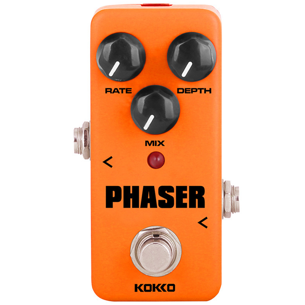 KOKKO FPH2 Vintage Phaser Guitar Effect Pedal with True Bypass FPH-2 orange