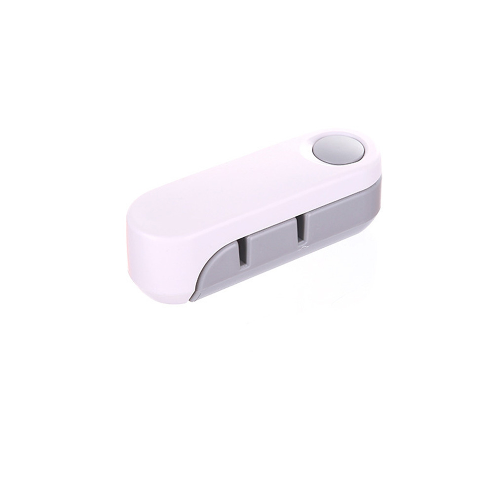 Portable Mini Two-stage Sharpener Sharpening Stone for Home Kitchen Gadget gray