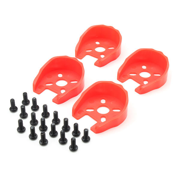 Universal Motor Cover Protection for 22 Series Motors + M3*8 Screw Set for RC Drone FPV Racing red