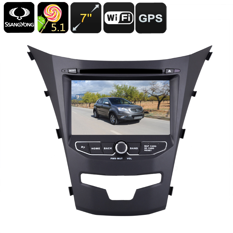 Android Car DVD Player Dual-DIN