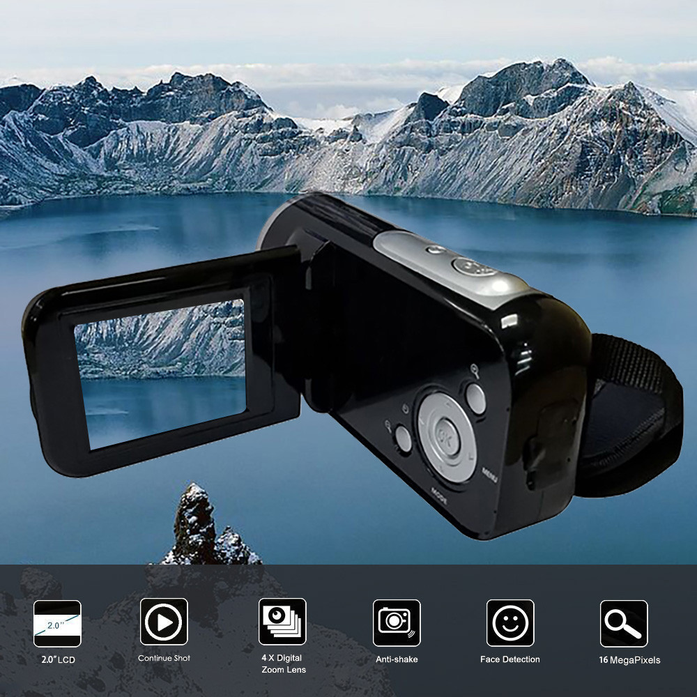 2 inch TFT Display Video Camcorder