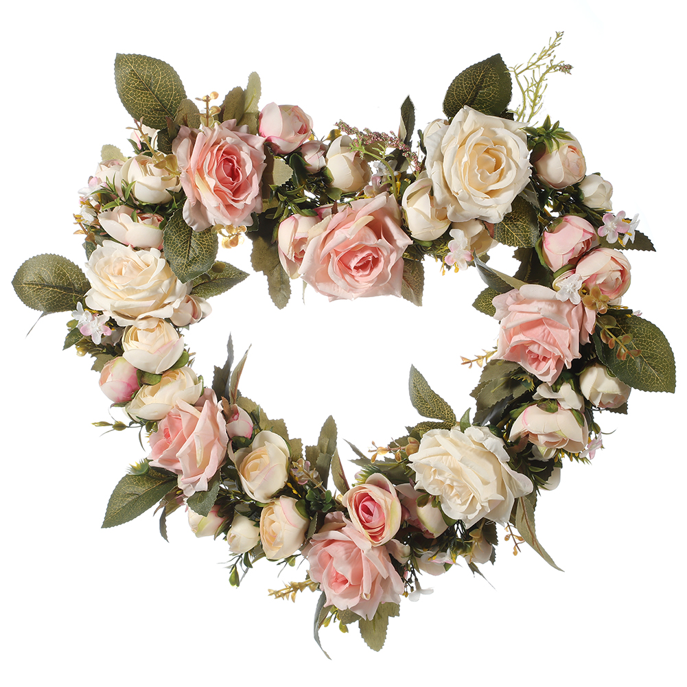 Artificial Simulation Roses Garland for Home