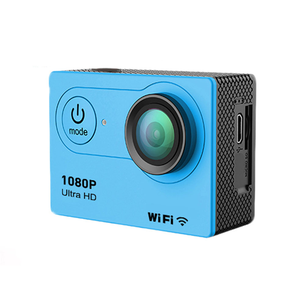 Ultra HD Waterproof Sports Camera - Blue