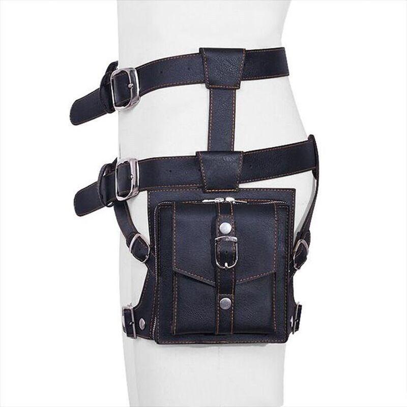 Outdoor Leg Bag Waist Fanny Pack Belt Assault Bags Outdoor Equipment black