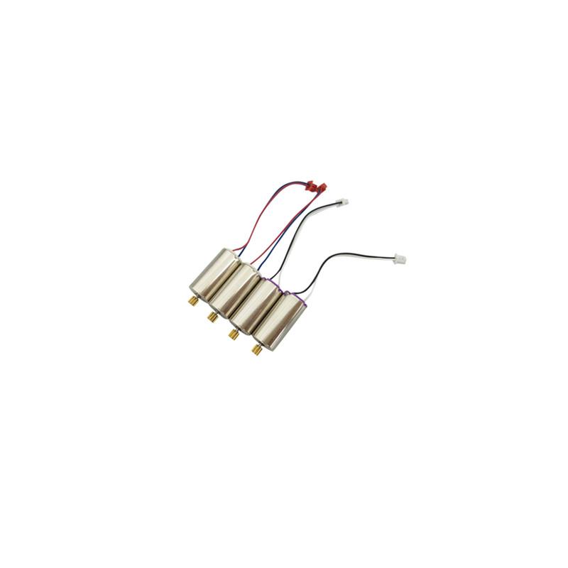 4PCS Motor for UDI U818A PLUS U49W U49C AA818 A D58 Aircraft Spare Parts UAV Positive/Reverse Motor Motor