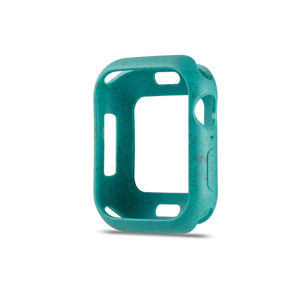 For Apple iWatch 5 Generation Protective Cover Macaron Color Apple Watch 4 Matcha green_42mm