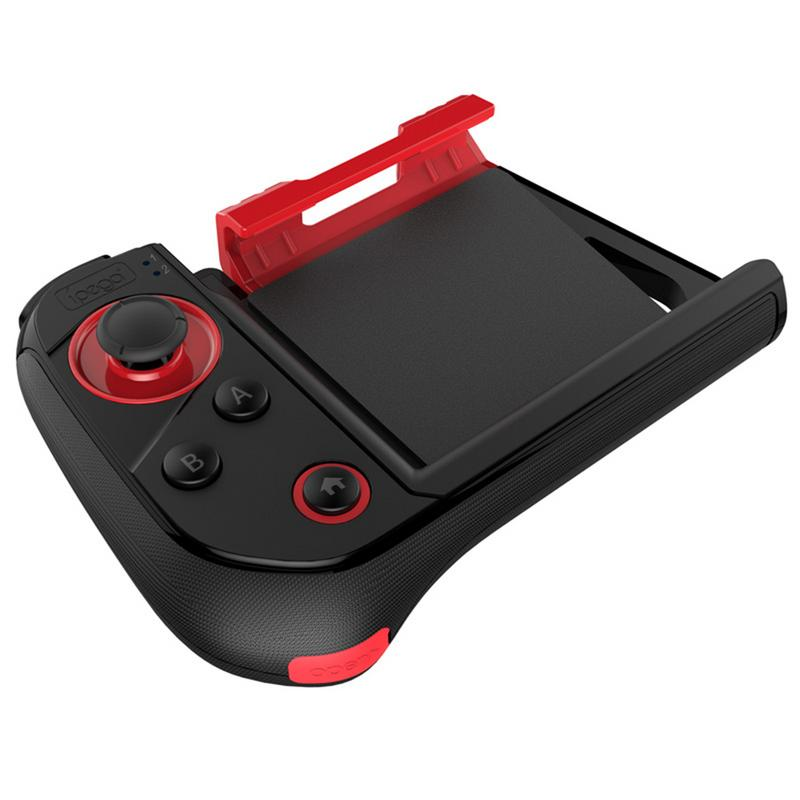 For Android IOS Game Controller PG-9121 Wireless Bluetooth for Tablet PC TV Box One-handed Smartphone Android Game Joystick As shown