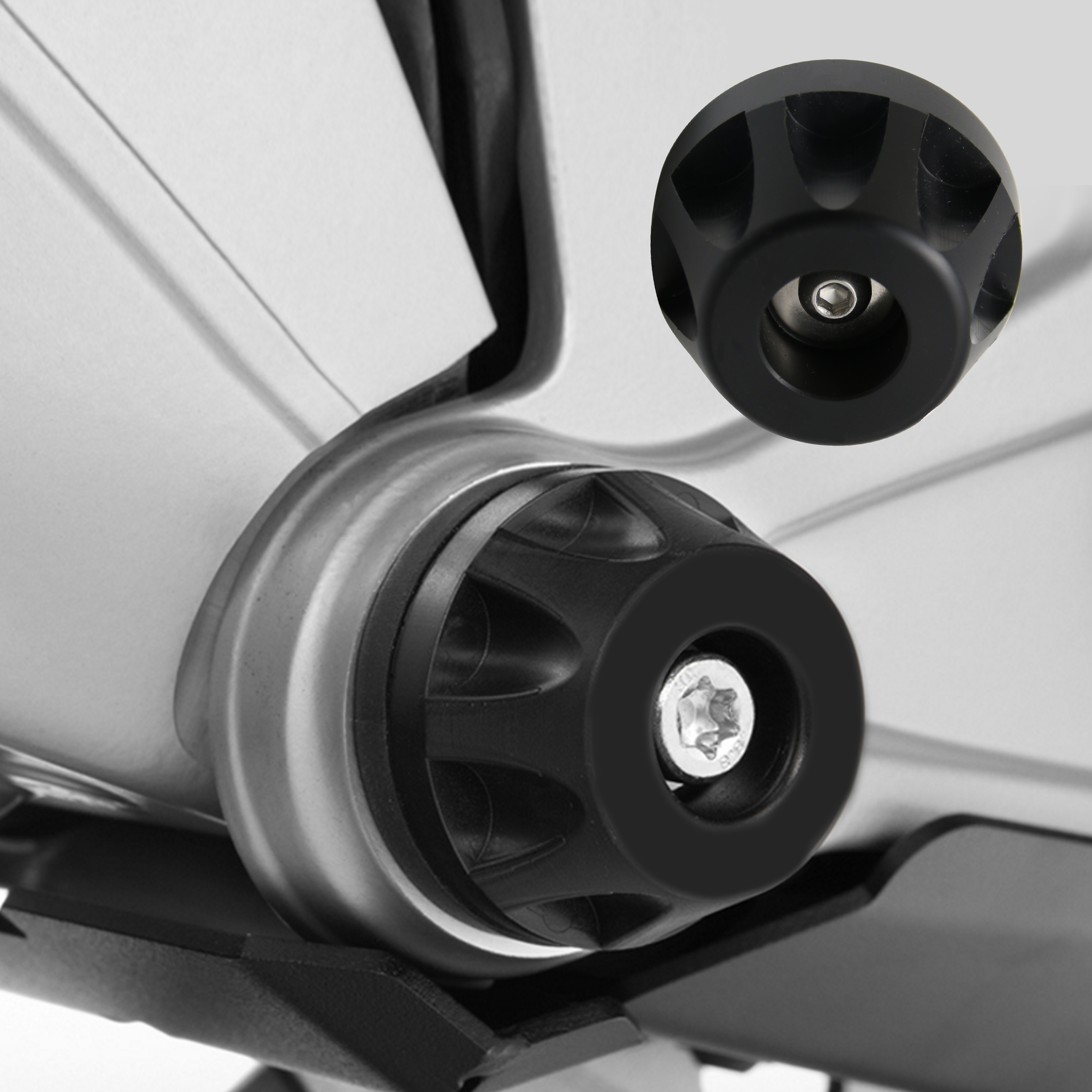 Rear Propeller Shaft Shatter-resistant Protector for BMW R1200GS ADV Motorcycle Accessories black