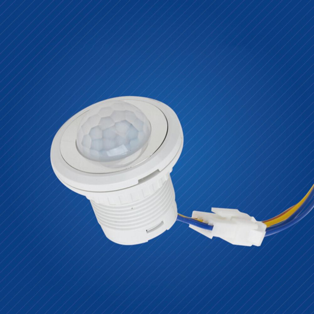 PIR Infrared Sensor LED Human Body Induction Detector 85-265V