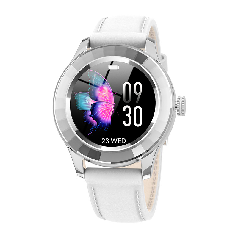 S09 Smart Watch Female Menstrual Cycle Call Reminder Bluetooth Sports Smart Bracelet White