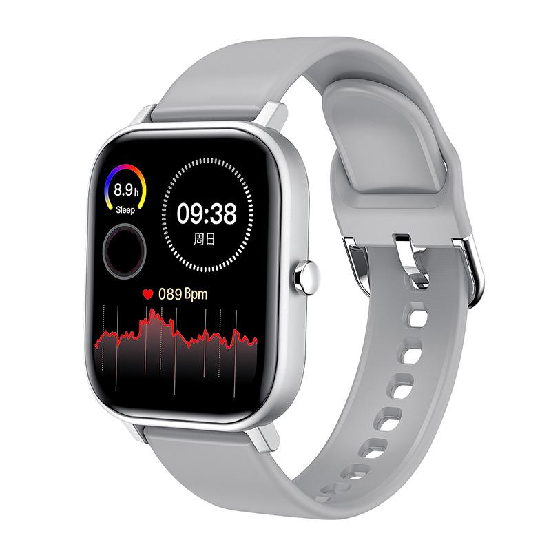 L18 Color Screen Smart Bracelet Heart Rate Sports Watch Smart Watch White