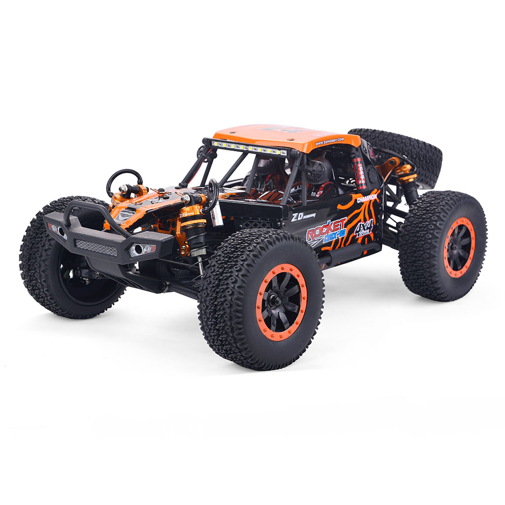 ZD Racing DBX 10 1/10 4WD 2.4G Desert Truck Brushed RC Car Off Road Vehicle Models 55KM/H Orange