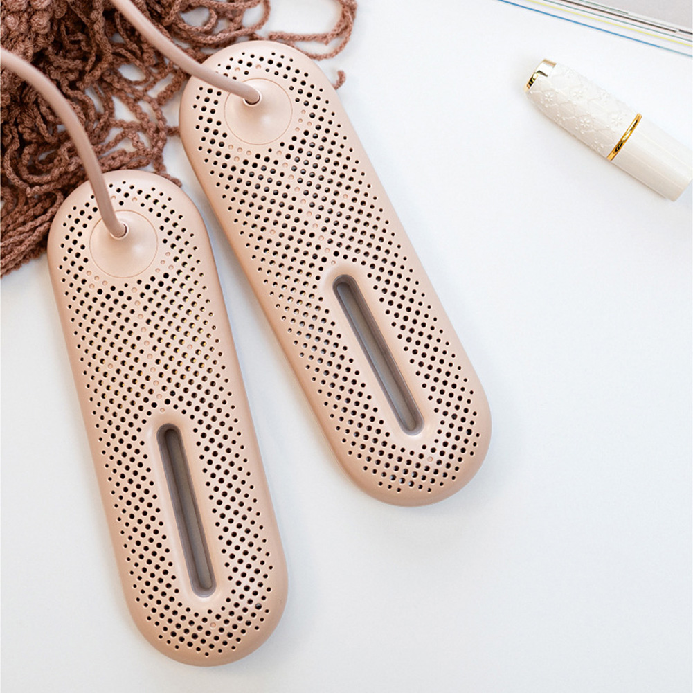 Constant Temperature Electric Shoe Dryer Deodorize Dehumidification Shoes Baked Dryer for Home Footwear Rice pink