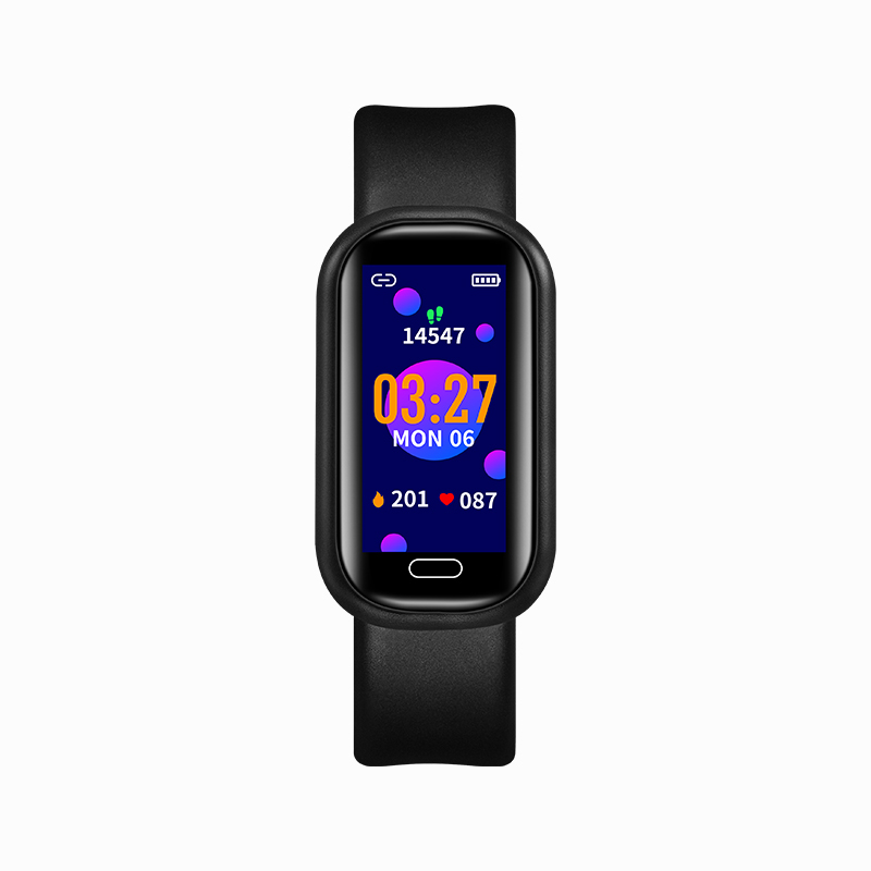 Smart Watch Bluetooth Call Health Monitoring Heart Rate Blood Pressure Blood Oxygen Exercise Smart Bracelet Black