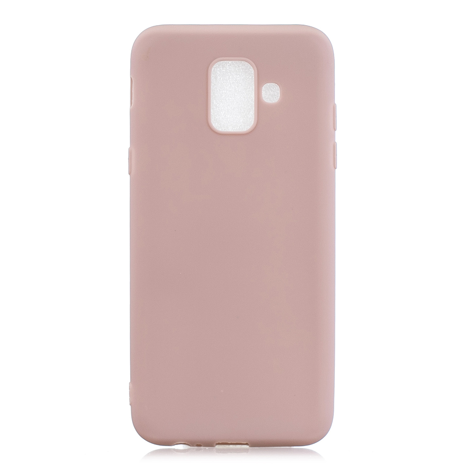 For Samsung A6 2018 Lovely Candy Color Matte TPU Anti-scratch Non-slip Protective Cover Back Case 11
