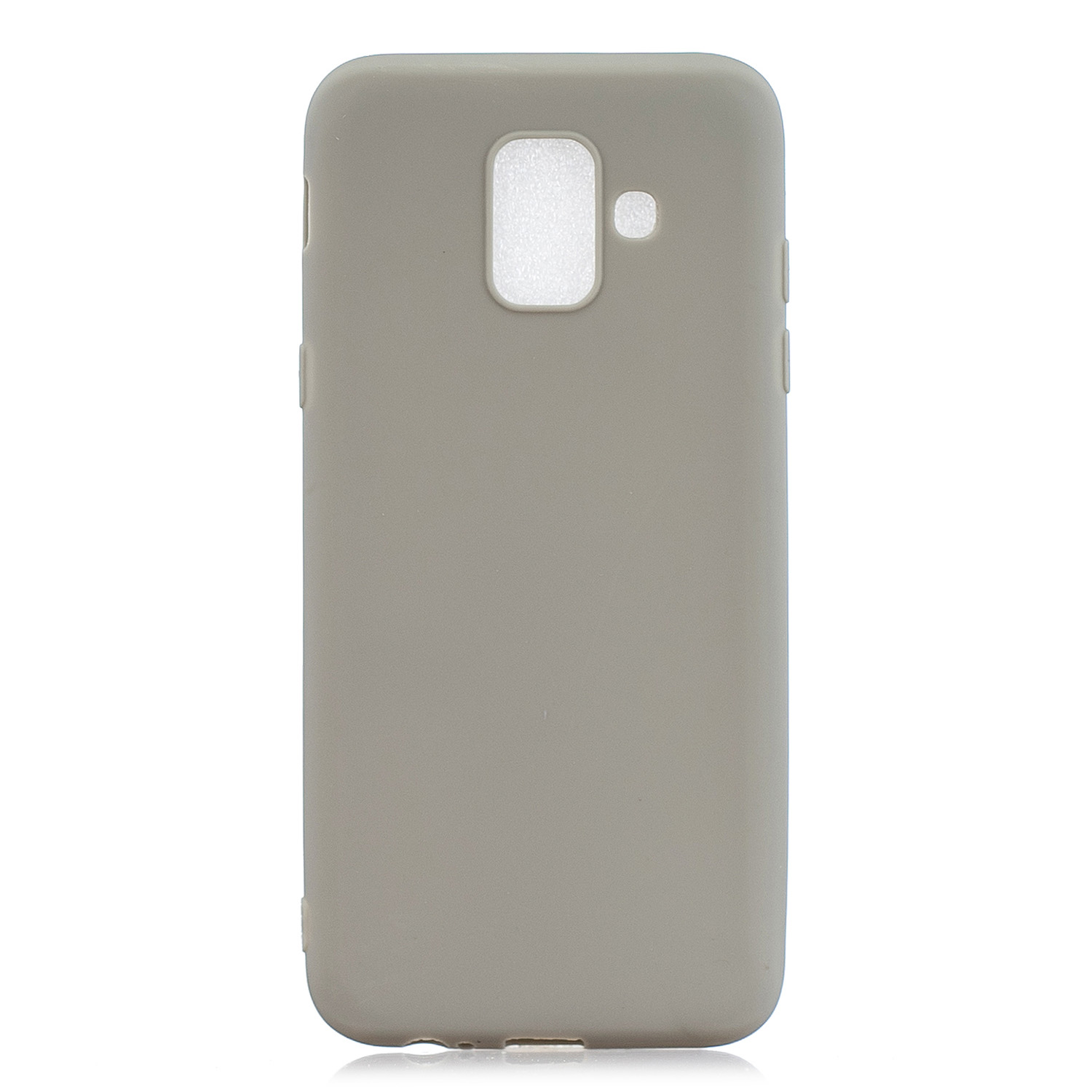 For Samsung A6 2018 Lovely Candy Color Matte TPU Anti-scratch Non-slip Protective Cover Back Case 12