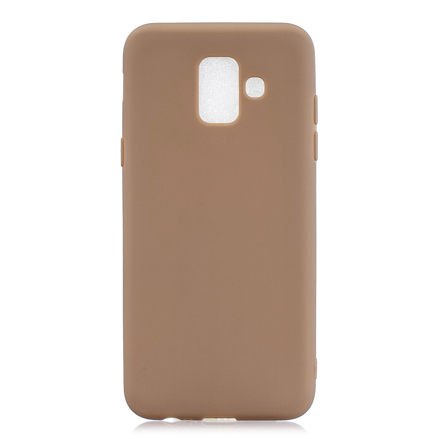 For Samsung A6 2018 Lovely Candy Color Matte TPU Anti-scratch Non-slip Protective Cover Back Case 9