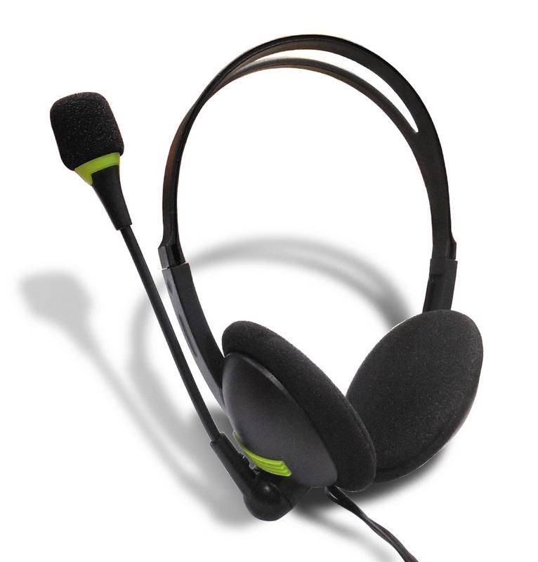 Headphones Earphones Gaming Headset 3.5mm Portable Headphone for PC Computer Black with packaging