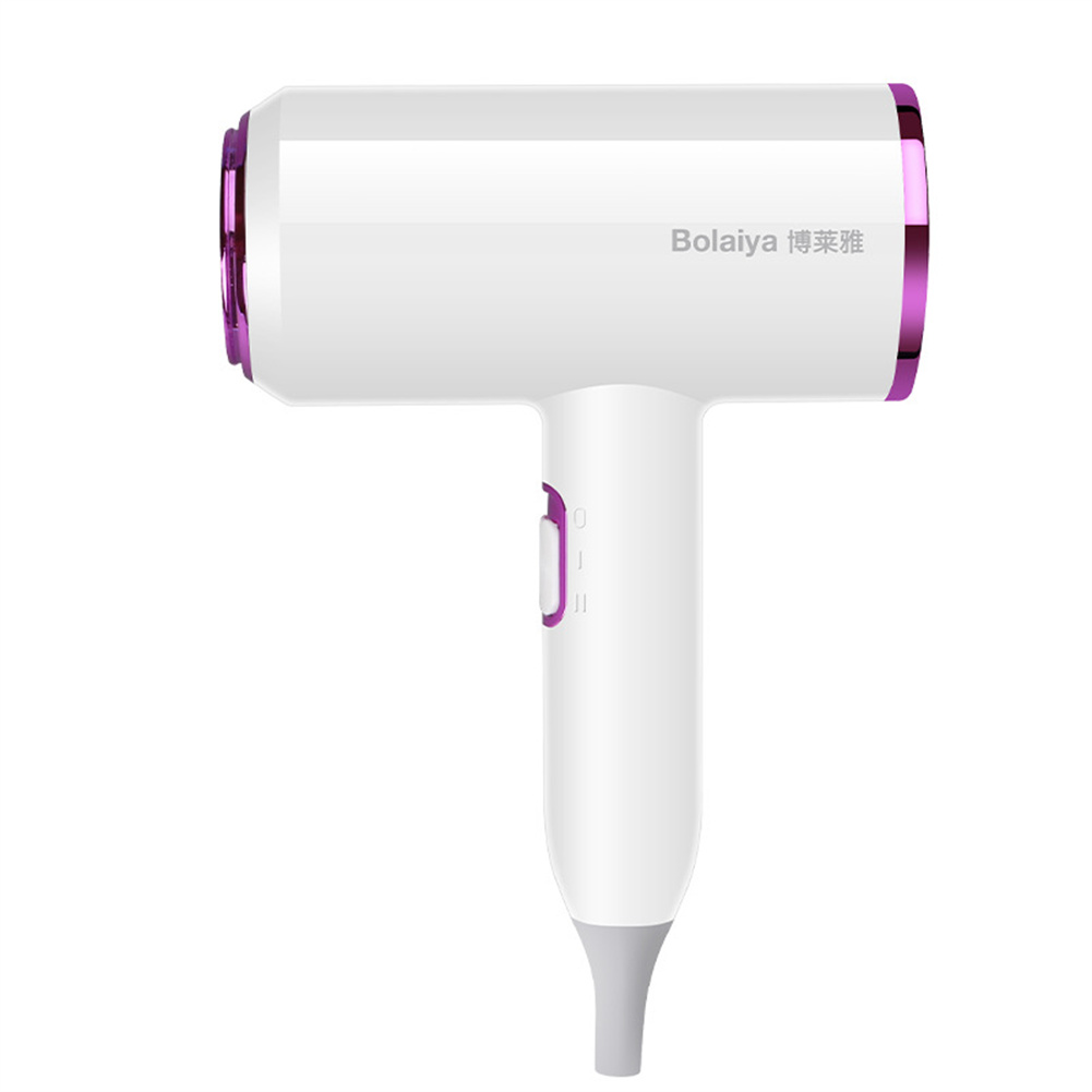 Hammer  Shape  Hair  Dryer Hot And Cold Air Negative Ion Hair Dryer For Household Dormitory White+rose purple