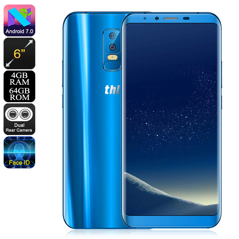 THL Knight 2 Smartphone (Blue)
